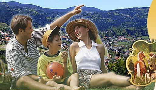 Familienurlaub in Bodenmais Bayern